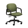 HON Solutions Seating Mid-Back Chair | Center-Tilt | Fixed Arms | Clover Fabric