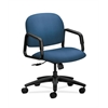 HON Solutions Seating Mid-Back Chair | Center-Tilt | Fixed Arms | Regatta Fabric