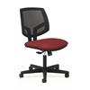 Volt Mesh Back Task Chair | Center-Tilt | Crimson Fabric