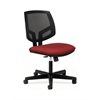 Volt Mesh Back Task Chair | Synchro-Tilt | Crimson Fabric
