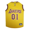 Mirage Pet Products LA Lakers Jersey Medium