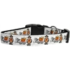Mirage Pet Products Snowmen Dog Collar Medium
