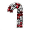 Mirage Pet Products Holiday 10mm Slider Charms Red Candy Cane .