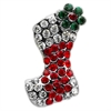 Mirage Pet Products Holiday 10mm Slider Charms Red Stocking .