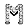 "Mirage Pet Products 3/8"" Clear Bling Letter Sliding Charms M ."