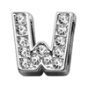 "Mirage Pet Products 3/8"" Clear Bling Letter Sliding Charms W ."