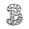 "Mirage Pet Products 3/8"" Clear Script Letter Sliding Charms B ."