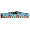 Mirage Pet Products Barnyard Buddies Nylon Ribbon Dog Collar Medium Narrow