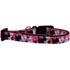Mirage Pet Products Plaid Pups Nylon Ribbon Dog Collar Sm