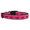 Mirage Pet Products Poodles in Paris Nylon Ribbon Collars Large