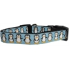 Mirage Pet Products Penguins Nylon Ribbon Collars Large
