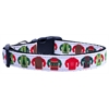 Mirage Pet Products Ugly Sweater Nylon Ribbon Collars Large