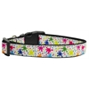 Mirage Pet Products Splatter Paint Nylon Ribbon Collars Medium