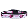 Mirage Pet Products Cowgirl Up Nylon Ribbon Dog Collars Medium