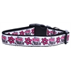 Mirage Pet Products Dangerous in Camo Nylon Ribbon Dog Collars Large