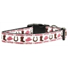 Mirage Pet Products Little Cowgirl Nylon Ribbon Dog Collars Large
