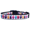 Mirage Pet Products Monsters Nylon Ribbon Dog Collars Medium
