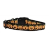 Mirage Pet Products Pumpkins Nylon Ribbon Dog Collars Large