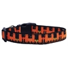 Mirage Pet Products Witches Brew Nylon Ribbon Dog Collars Medium