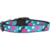 Mirage Pet Products Aqua Love Nylon Ribbon Dog Collars Medium