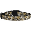 Mirage Pet Products Autumn Leaves Nylon Ribbon Dog Collars Medium