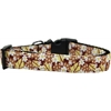 Mirage Pet Products Autumn Leaves Nylon Ribbon Dog Collar XL