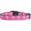 Mirage Pet Products Carolina Girl Nylon Ribbon Dog Collars Large