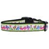 Mirage Pet Products Easter Birdies Nylon Ribbon Dog Collars Large