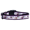 Mirage Pet Products Mardi Gras Nylon Ribbon Dog Collars Large