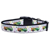 Mirage Pet Products Peace Bus Ribbon Dog Collars Large