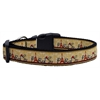 Mirage Pet Products With Love from Paris Ribbon Dog Collars Large