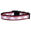 Mirage Pet Products American Cutie Ribbon Dog Collars Medium