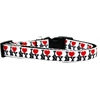 Mirage Pet Products I Heart NY Ribbon Dog Collar Medium Narrow