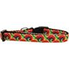 Mirage Pet Products Tie Dye Nylon Ribbon Dog Collar Medium Narrow