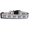 Mirage Pet Products Little Sister Nylon Ribbon Dog Collar XL