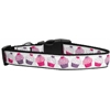 Mirage Pet Products Pink and Purple Cupcakes Dog Collar Medium