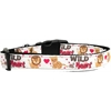 Mirage Pet Products Wild at Heart Dog Collar Medium