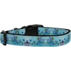 Mirage Pet Products Dreamy Blue Dog Collar Large