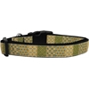 Mirage Pet Products Beige Chaos Dog Collar Medium