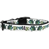 Mirage Pet Products Pretty as a Peacock Dog Collar Medium