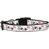 Mirage Pet Products Pink Tractors Dog Collar Large