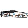 Mirage Pet Products Doxie Love Nylon Dog Collars Medium