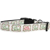 Mirage Pet Products Feliz Navidad Nylon Dog Collars Large