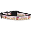Mirage Pet Products Save the Hooters Nylon Dog Collars Large