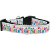 Mirage Pet Products Shelter Pets Rock Nylon Ribbon Dog Collar XL