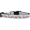 Mirage Pet Products Shelter Pets Rock Nylon Ribbon Dog Collar Medium Narrow
