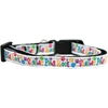 Mirage Pet Products Shelter Pets Rock Nylon Ribbon Dog Collar Sm