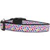 Mirage Pet Products Confetti Paws Nylon Dog Collars Large