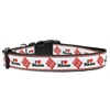 Mirage Pet Products I Love Bacon Nylon Dog Collars Medium