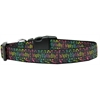 Mirage Pet Products Happy Birthday Nylon Dog Collar Large